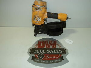 Bostitch Coil Nailer Nail Gun used Wire Weld 15 Degree Coil
