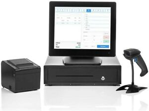 Retail Point Of Sale System Includes Touchscreen Pc Pos Software retail Pos