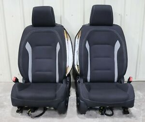 2018 Chevrolet Camaro Ss Factory Black Cloth Front Seats Used Oem Gm