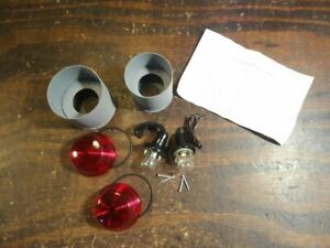 Nos Renegades Recessed Taillight Buckets Hot Rat Rod Custom Ford Plymouth T675