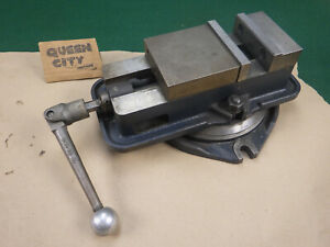 Eron 4 Mill milling machinist Vise D40 Style With Handle And Swivel Base