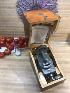 Nice South Bend 827nk1 Lathe Milling Attachment W Box Instructions