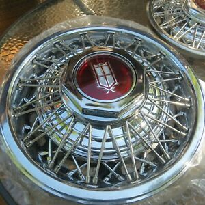 Nos 15 Inch Wire Wheel Cover 1979 1986 Ford Ltd Mercury Marquis Set Of 4 1983