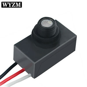 Wall Pack Light Control Sensor Dusk To Dawn Photocell Switch Replace 120v 277v