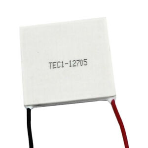 1pc 5a 12v Heatsink Generator Thermoelectric Cooling Plate Module 40x40mm
