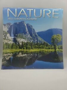 2022 Wall Calendar Nature 12 Month Scenery Landscapes 12 X 12 Greenbriar Intl