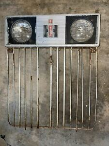 International 444 Tractor Factory Ih Ihc Front Nose Cone Grill Complete