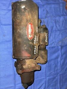 Used Starter Compatible With International 1440 1460 1420 1480 Case Ih 1620