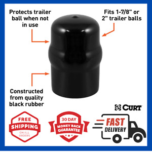 Curt Trailer Ball Cover Rubber Hitch Ball Cover Tow Cap Fits 1 7 8inch Or 2inch