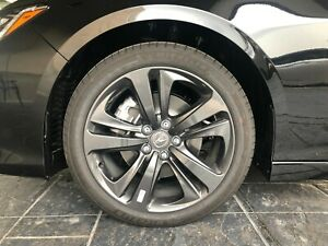 2021 Acura Tlx A Spec 19 Inch Shark Gray Wheels And Michelin Tires 255 45 19