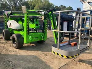 Free Shipping 2021 Niftylift Sd64 4x4x4 Aerial Boom Lift In Stock