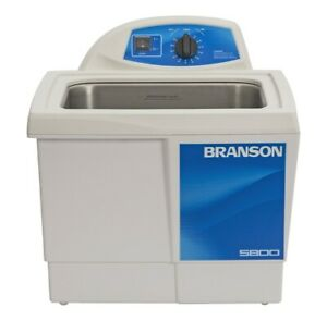 Branson M5800h Ultrasonic Cleaner With Mechanical Timer And Heat 2 5 Gal