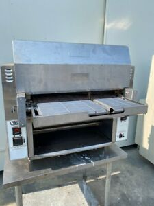 2017 Nieco Broilvection Jf63 2g Natural Gas Dual Belt Automatic Broiler