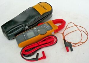 Fluke 902 Fc Hvac Clamp Meter True Rms W Test Leads Excellent Condition