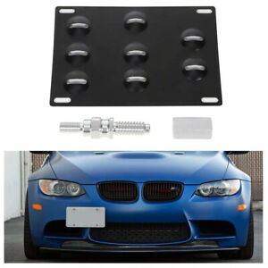 License Plate Bracket For Bmw E60 E63 6451 5351 Z4 3 5 6 7 Front Bumper Tow Hook