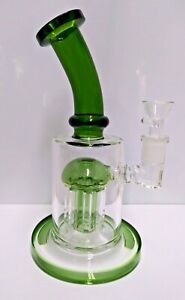 Thick 9 Clear Bong Heavy Glass Water Pipe Hookah