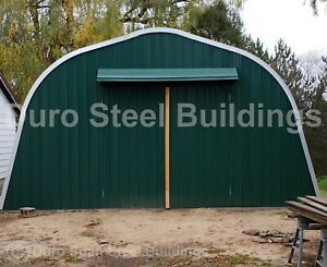 Durospan Steel 32 x22 x18 Metal Building Diy Home Kits Open Ends Factory Direct