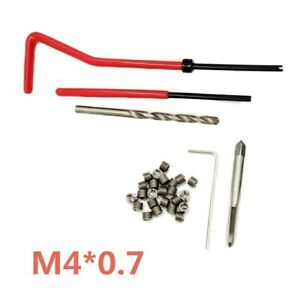 Thread Inserts Set Wrench Thread Repair High Quality Practical Brand New