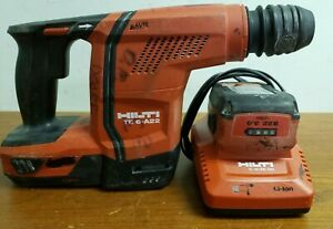 Hilti Te 6 a22 Cordless Hammer Drill W 2 B 22 3 0 Li on Batteries And Charger