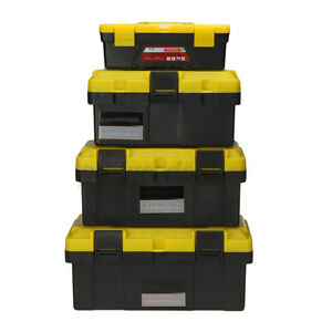 Portable Plastic Tool Box Toolbox DIY Parts Tools Container Storage Case Tray $20.89