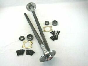 Ford 9 9 Inch Cut To Lg 4340 Moly 31 Spline Axles 2 Axles With Accessories