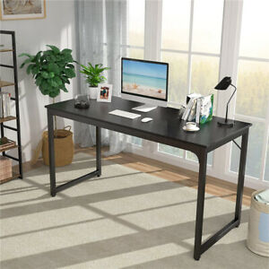 Gaming Computer Desk Study Workstation Office Desk Home Pc Laptop Table Blac