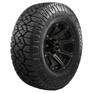 2 35x1250r17lt Nitto Exo Grappler Awt 121q E10 Ply Bsw Tires