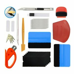 Nice Film Wrapping Tools High Quality Kits New Stickers Useful Automotive