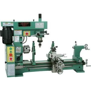 Grizzly G9729 31 3 4 Hp Combo Lathe mill