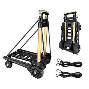 Folding Hand Truck Portable Dolly Compact Utility Luggage Cart With By04