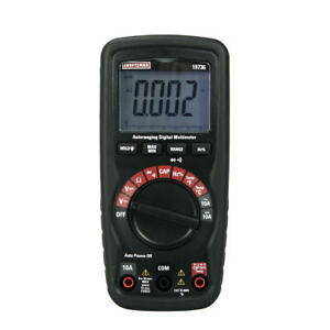 Craftsman Auto ranging Multimeter With Non contact Voltage Detector