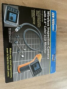 Cen tech Wireless Inspection Camera With 2 4 Lcd Monitor