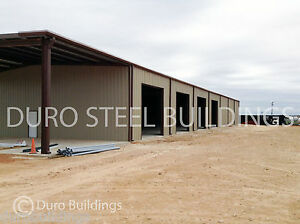 Durobeam Steel 72 x120 x18 Metal Prefab Clear Span Building Made To Order Direct