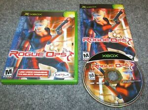 Rogue Ops for Xbox Complete Fast Shipping $5.95