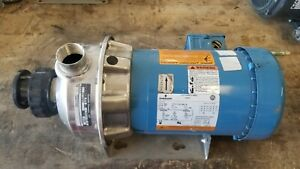 Goulds Stainless Steel Pump 2st1g5c4 G l Series Npe 1 1 4 X 1 1 2 To 6