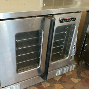 Garland Confection Commercial Electric Oven Works But Panel May Need Repair