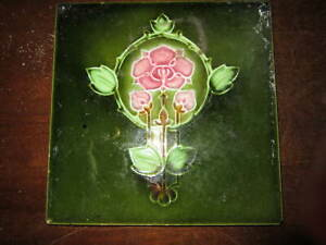 An Old Victorian 6 Fireplace Tile