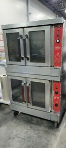 Vulcan Vc4gd 10 Commercial Double Deck Gas Convection Oven Works Well