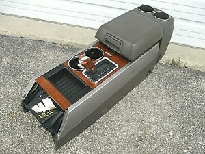 Ford Expedition Center Floor Console Cup Holder 09 10 Storage