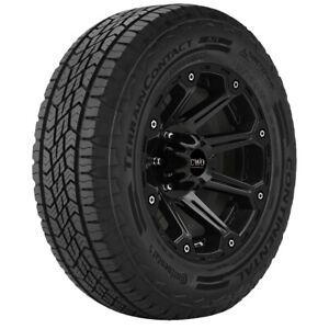 2 Lt285 70r17 Continental Terrain Contact A T 121 118s E 10 Ply Bsw Tires
