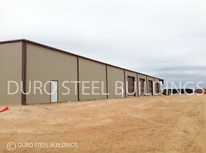 Durobeam Steel 95 x200 x20 Metal Clear Span Red Iron Warehouse Building Direct