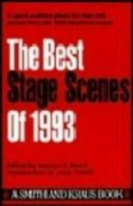The Best Stage Scenes of 1993 $3.98