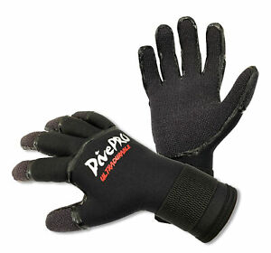 3.5mm Seams Glued Spearfishing Scuba Diving Gloves made with DuPont™ Kevlar AU $49.00