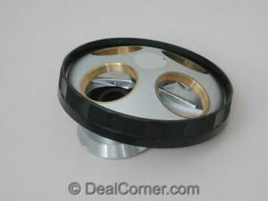 Nikon Microscope 4 Position Turret Nose Piece For Bd Objectives