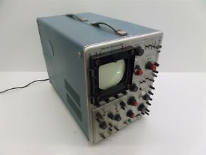 Tektronix Type 546 Oscilloscope With Type 1a1 Dual trace Plug in Unit