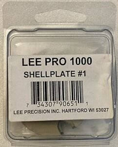90651 Lee Pro 1000 Press Shell Plate # 1 38 Samp;W 38 Special 357 Magnum New $19.00
