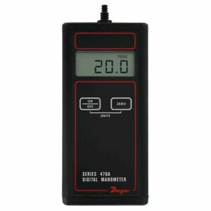 Dwyer 476A 0 Single Pressure Digital Manometer 20 to 20 amp;quot;w.c. $111.00