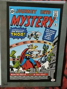 Stan Lee Hand Signed 8x10 Autographed Promotional Page THOR $69.99