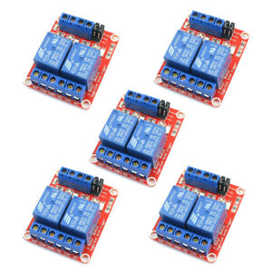 1 10pcs 24v 4 Channel Relay Module W Opto isolated High And Low Level Trigger