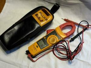 Fluke 334 Clamp Meter Pre owned With Case Wires